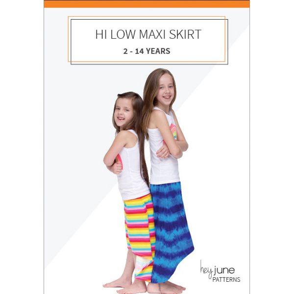 Hi Low Maxi Skirt