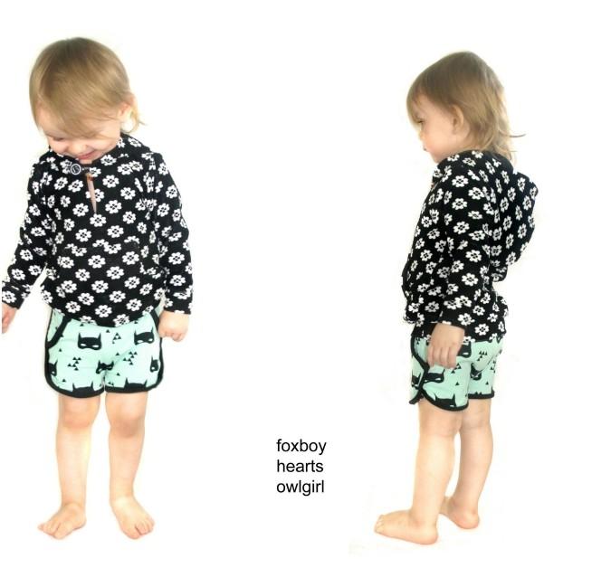 Hatteras Hoodie pdf pattern from Hey June Handmade