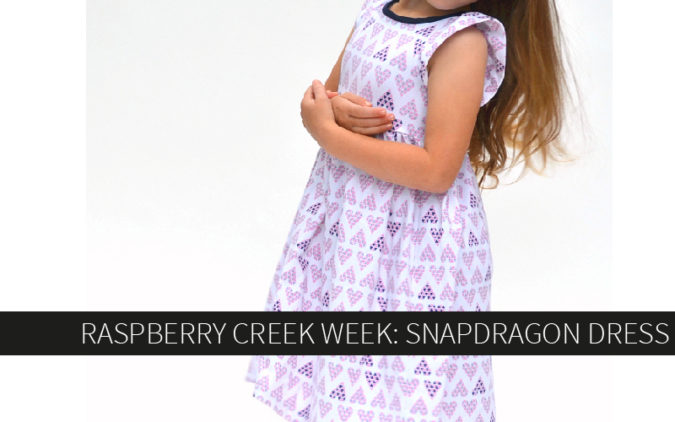 Raspberry Creek Week: Snapdragon Dress