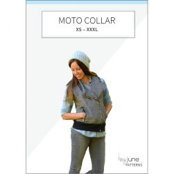 Evergreen Moto Collar Pattern