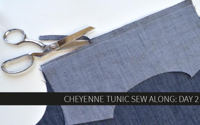 Cheyenne Tunic Sew Along Day 2: Pockets and Yoke
