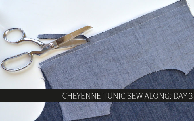 Cheyenne Tunic Sew Along Day 3: Neckbands and Sleeve Tabs