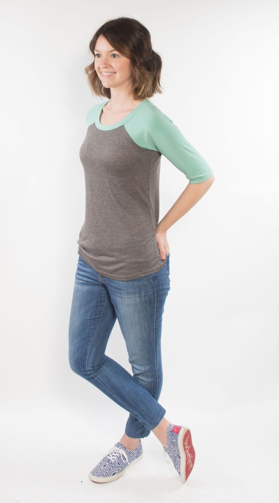 The Lane Raglan by Hey June Handmade