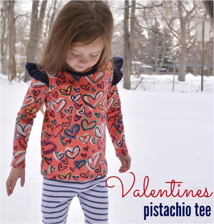Valentines Day Pistachio Tee