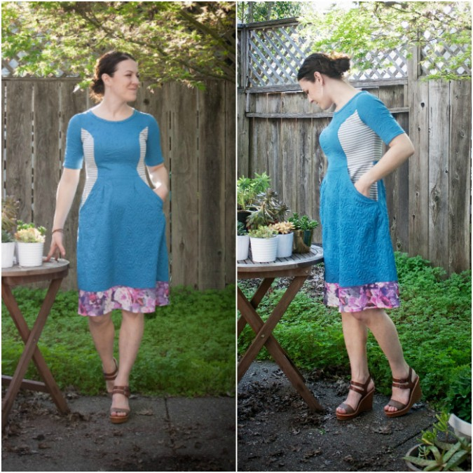 Charleston Dress by Hey June Handmade