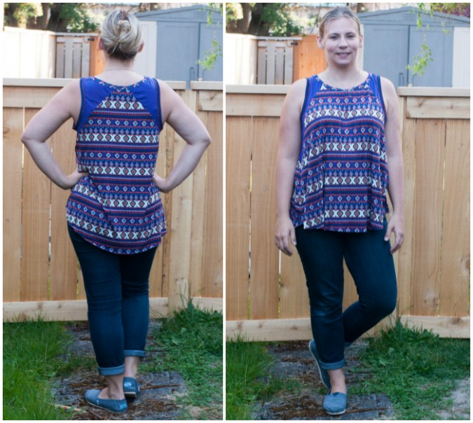 Santa Fe Top by Hey June Handmade