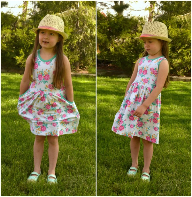 Raspberry Creek Fabrics Soleil Dress