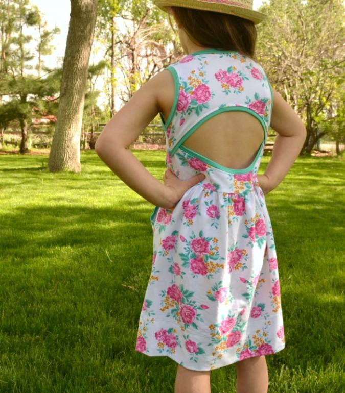 Raspberry Creek Fabrics Soleil Dress
