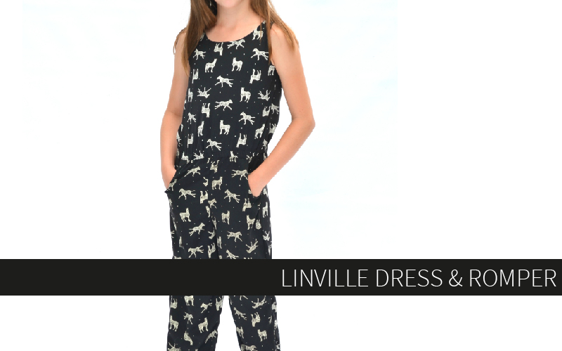The Linville Romper and Dress