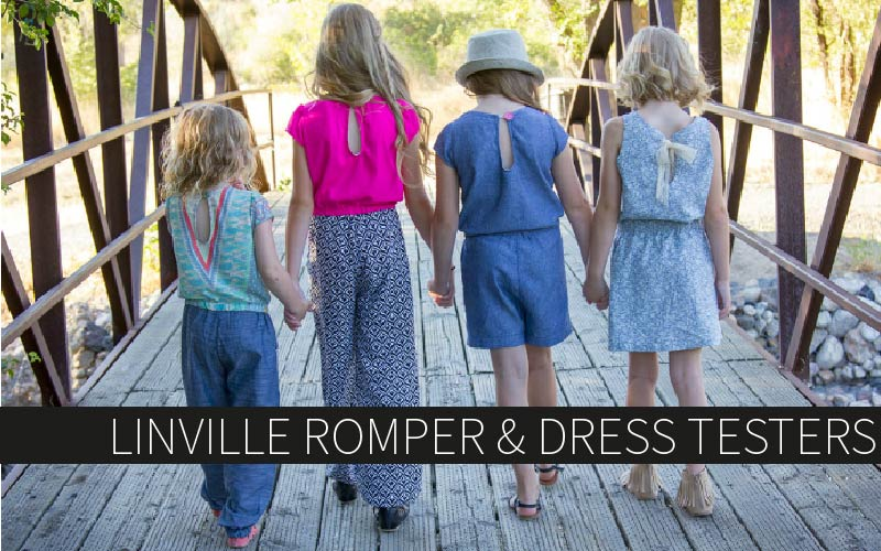 Linville Romper & Dress Testers