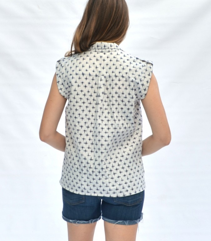Sanibel Shirt Hack by Hey June Handmade