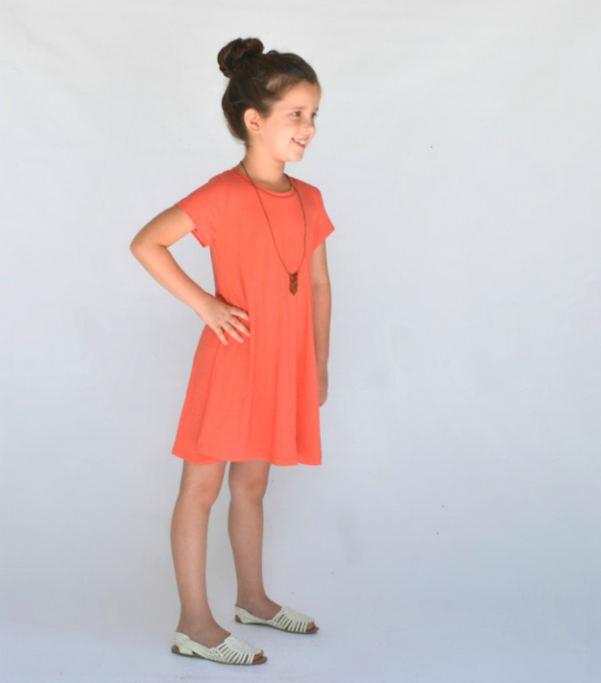 City Park Tee Swing Dress