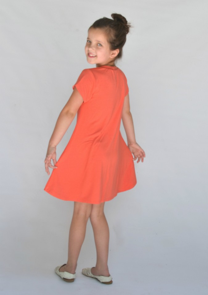 City Park Tee Swing Dress
