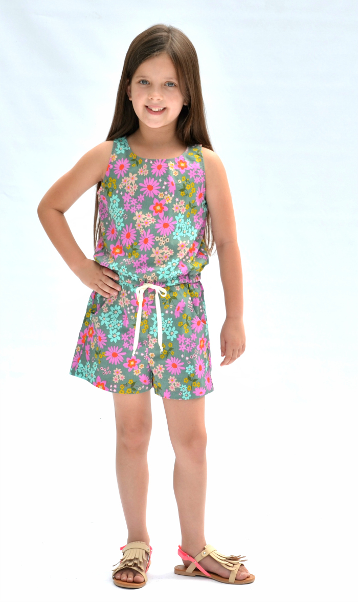 369565cc3845 Linville Romper and Dress - Hey June Handmade