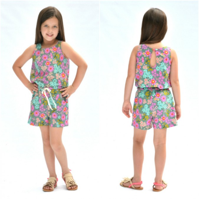 The Linville Romper and Dress from Hey June Handmade