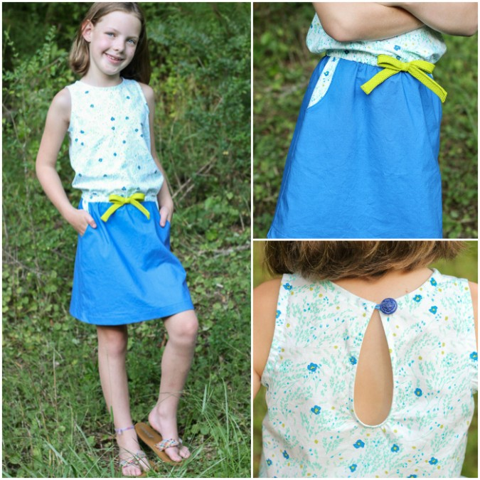Linville Romper and Dress by Hey June Handmade