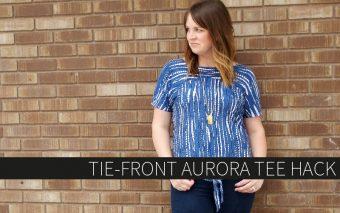 Tie-Front Aurora Tee Hack