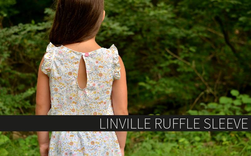 Linville Ruffle Sleeve