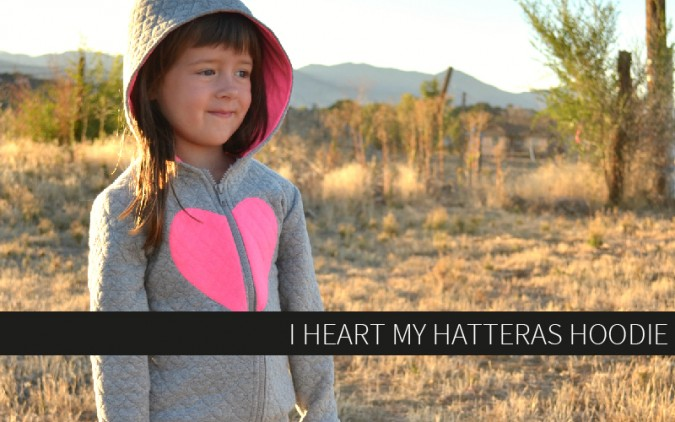I Heart my Hatteras Hoodie