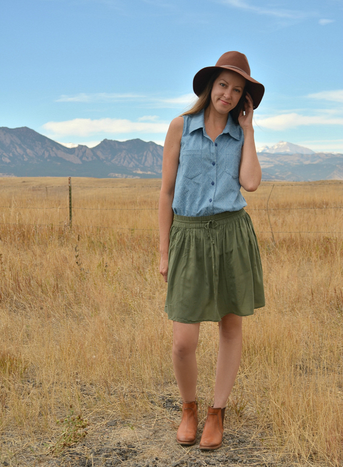 Sleeveless Cheyenne by Hey June Handmade