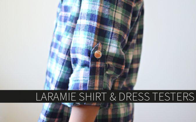 Laramie Shirt and Dress Testers