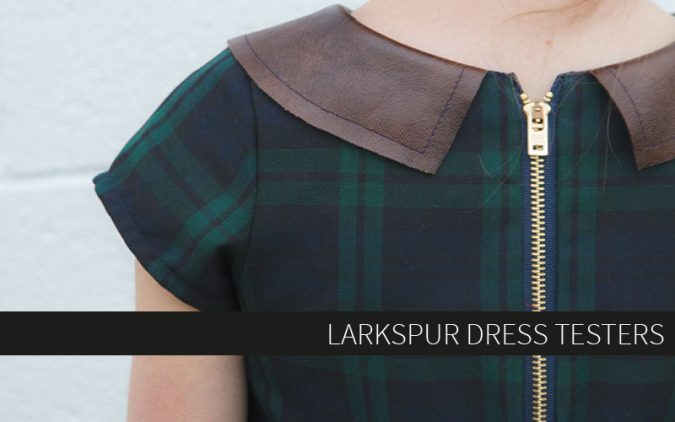 Larkspur Dress Testers
