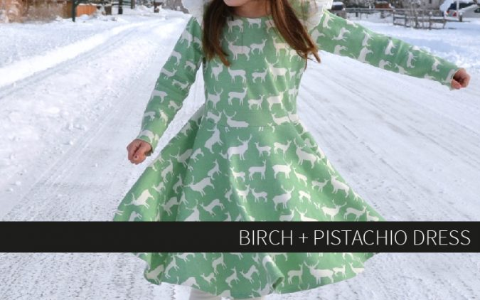 Birch + Pistachio Dress