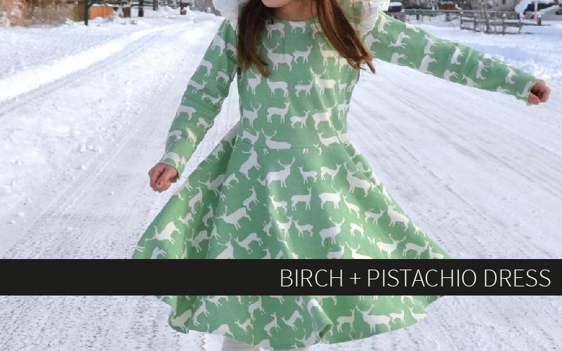 Birch + Pistachio Dress