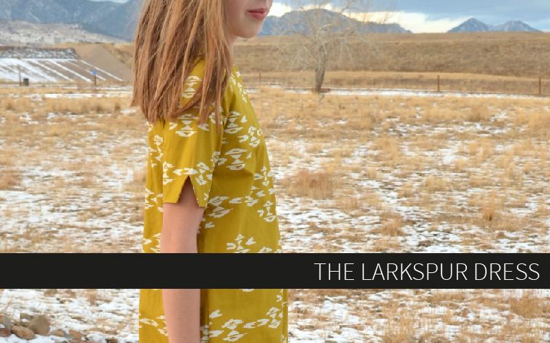 The Larkspur Dress