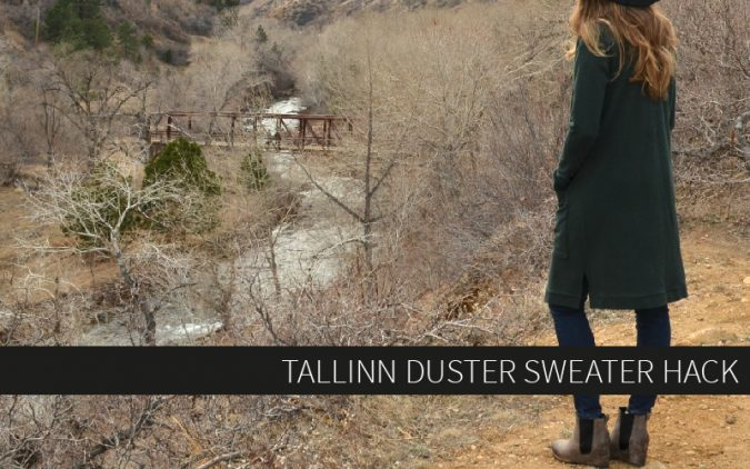 Tallinn Duster Sweater Hack