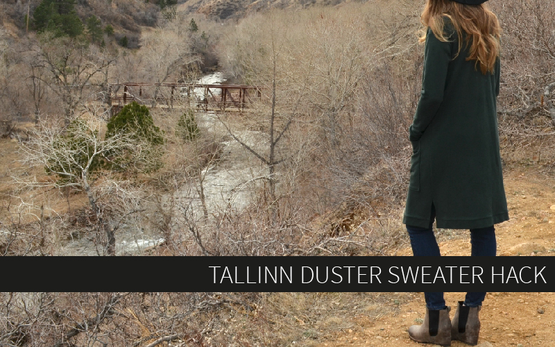 Tallinn Duster Sweater Hack