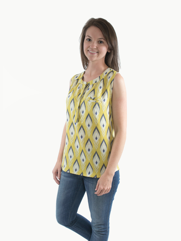 Biscayne Blouse Sewing Pattern