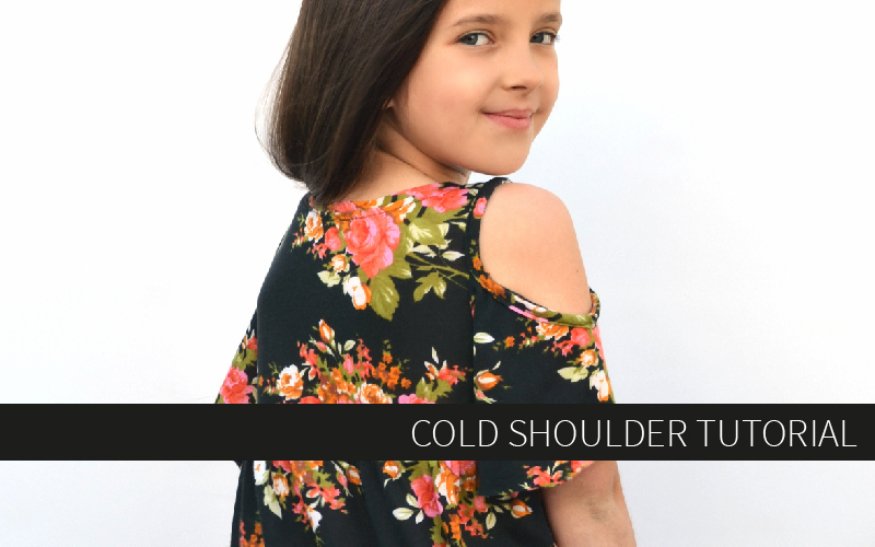 Cold Shoulder Tutorial