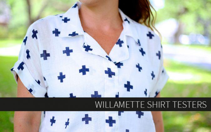 Willamette Shirt Testers