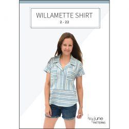 The Willamette Shirt by Hey June Handmade
