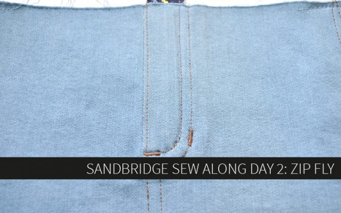 Sandbridge Sew Along Day 2: Zip Fly