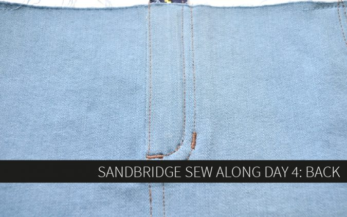 Sandbridge Sew Along Day 4: Back