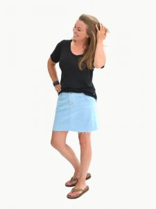 Sandbridge Skirt Sewing Pattern