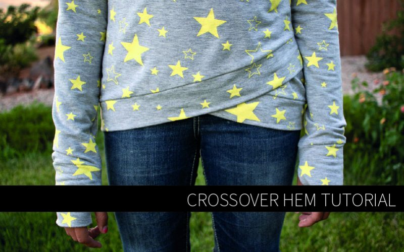 Crossover Hem Tutorial