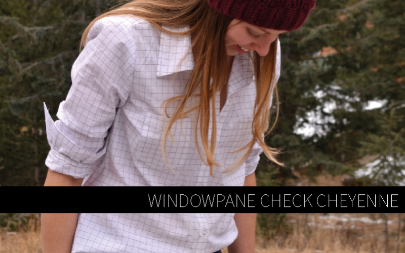 Windowpane Check Cheyenne