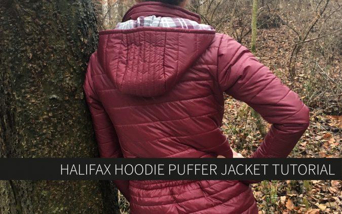 Halifax Hoodie Puffer Jacket Tutorial