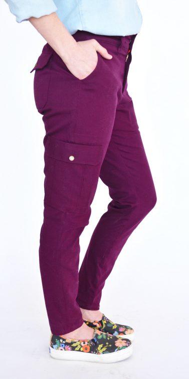 Bryce Cargo pants by Hey June Handmade