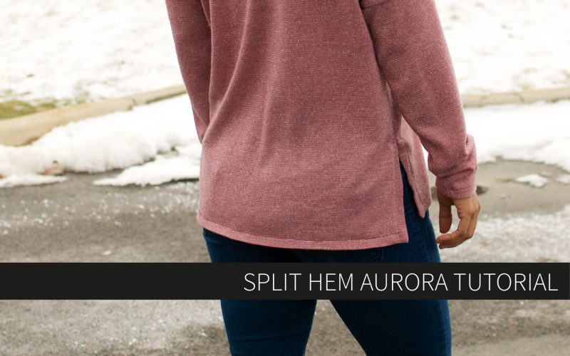 Split Hem Aurora Tutorial