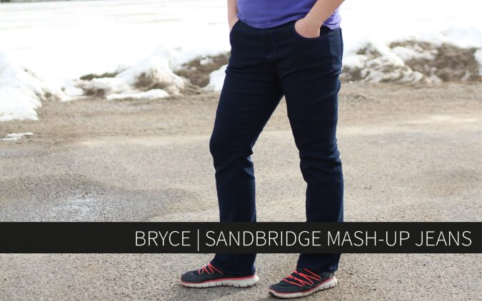 Bryce | Sandbridge Mash-up Jeans