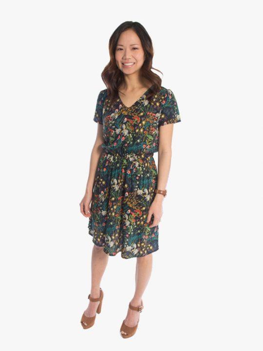Amalfi Dress sewing pattern