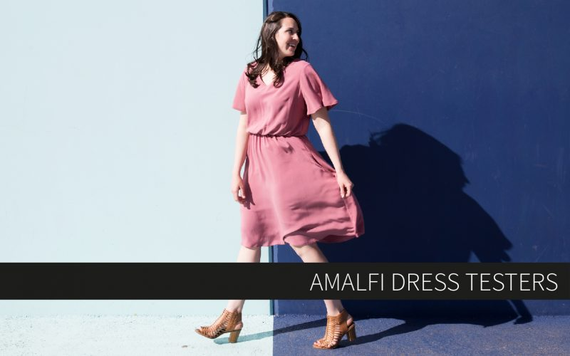 Amalfi Dress Testers