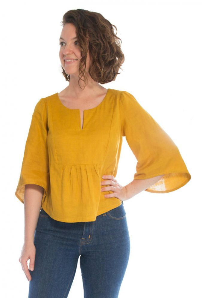 18d239d10d1261 Introducing the Phoenix Blouse! The Phoenix is a casual but cute boho style  top perfect for year-round wear!
