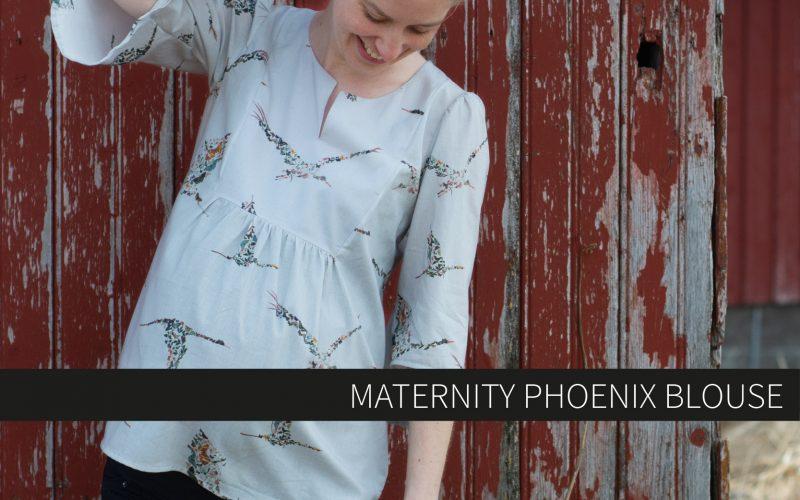 Maternity Phoenix Blouse