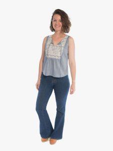 Phoenix Blouse sewing pattern