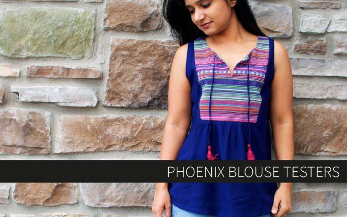 Phoenix Blouse Testers